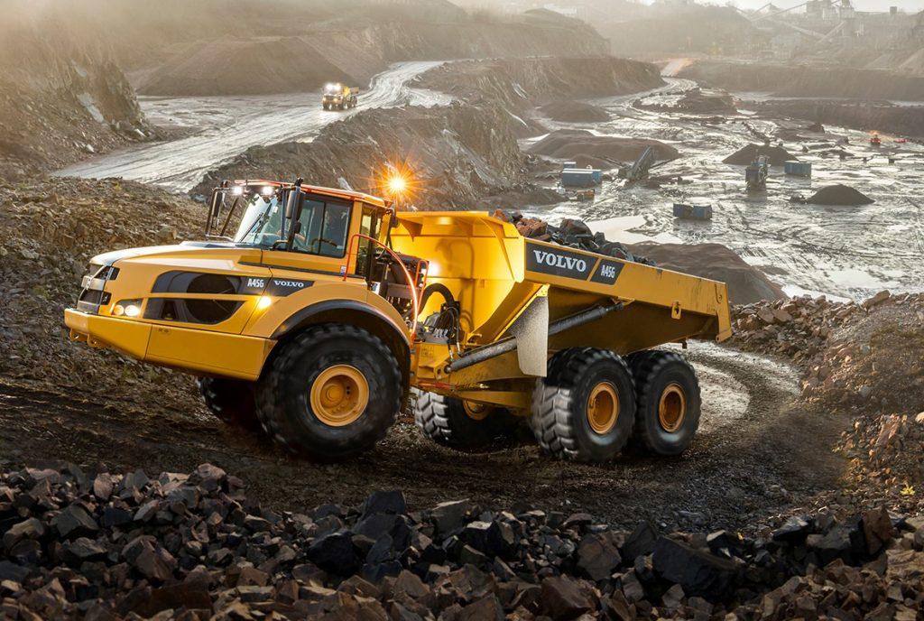 Volvo CE entrega o caminhão articulado nº 75.000 - Estradão
