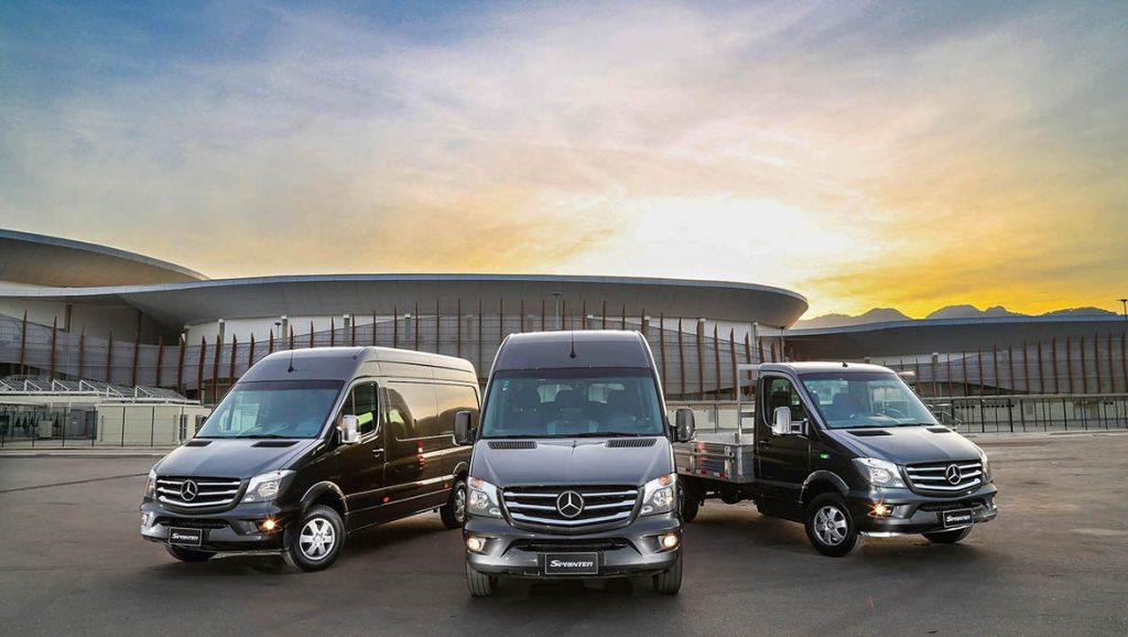 Edição especial da linha Sprinter da Mercedez-Benz