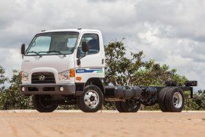 Novo caminhão Hyundai HD 80