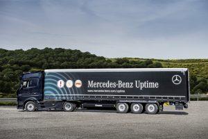 Mercedes-Benz estende serviço de monitoramento do funcionamento do veículos para os semirreboques