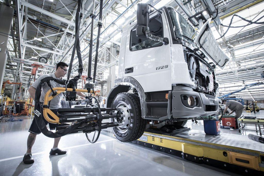 Mercedes-Benz reformula a fábrica de São Bernardo do Campo com os conceitos da Indústria 4.0