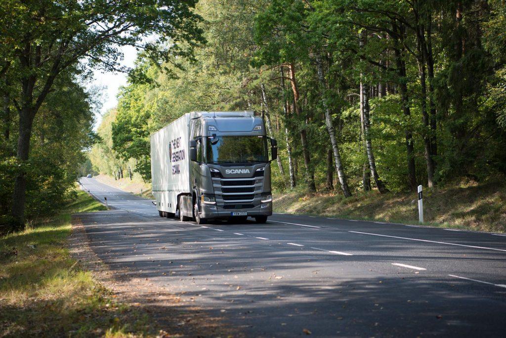 Scania R500 vence teste alemão de consumo de combustível