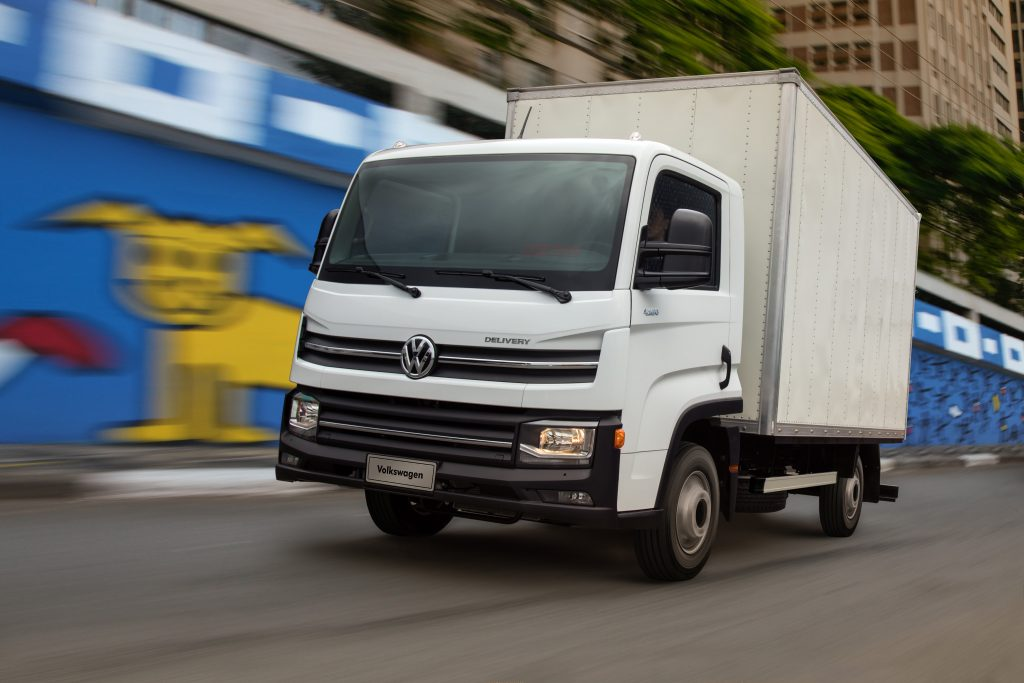 VW Delivey Express chega à rede Volkswagen Caminh]oes