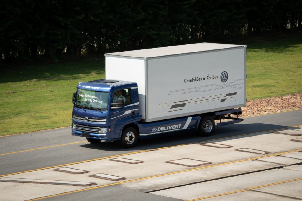 elétrico e-delivery