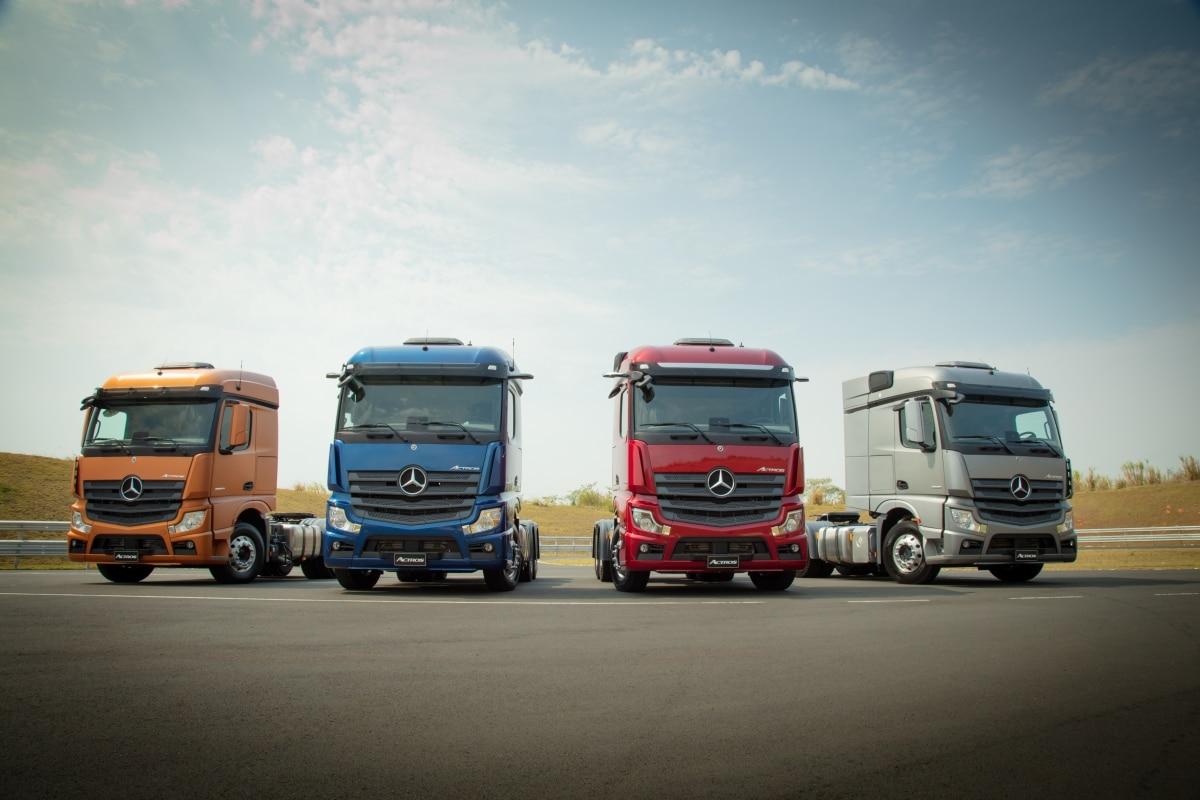 Lançamentos de caminhões em 2020