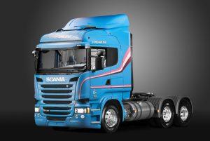 Scania T 113 e R 440 ajudaram na boa fama da marca