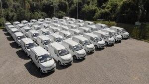 eT3 e-delivery furgão da BYD se mostra rentável em operação de transporte