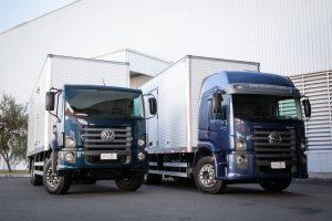 Novos caminhões Volkswagen chegam às concessionárias