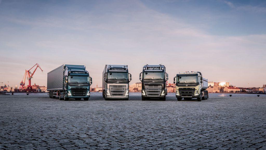 Nova geração de caminhões Volvo é lançada na Europa