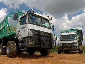O Axor 3131 rígido é o caminhão autônomo da Mercedes-Benz