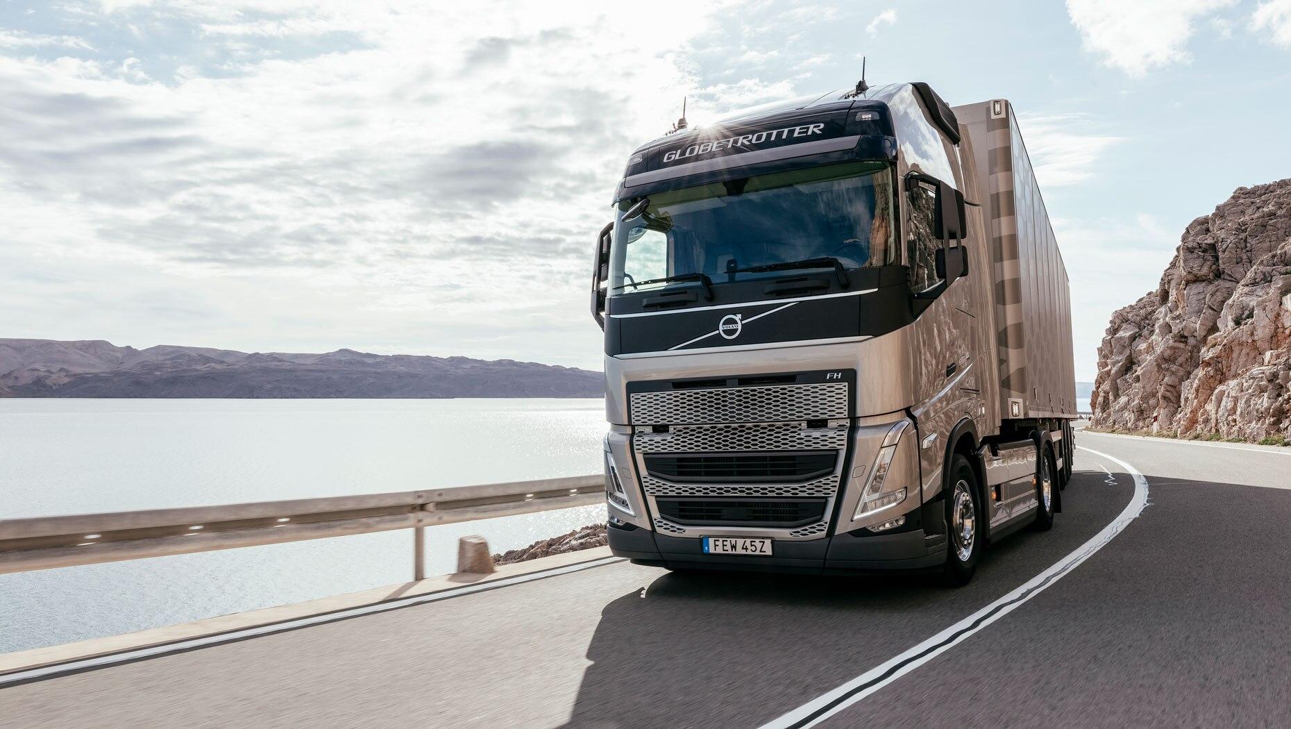 A próxima geração do Volvo FH pode chegar ao Brasil ano que vem.