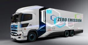 Toyota e Hino desenvolvem caminhão pesado elétrico com autonomia de 600 km