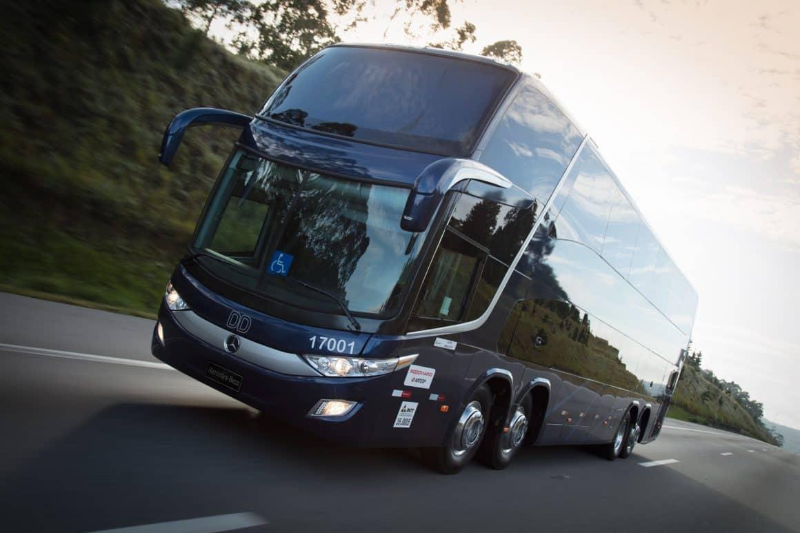 Mercedes-Benz lança ônibus O500 mais potente e com maior capacidade