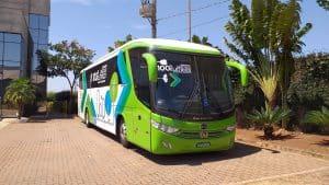 BYD lança o primeiro ônibus elétrico a bateria do Brasil para uso rodoviário e fretamento