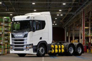 Scania recebe novas encomendas do caminhão a gás