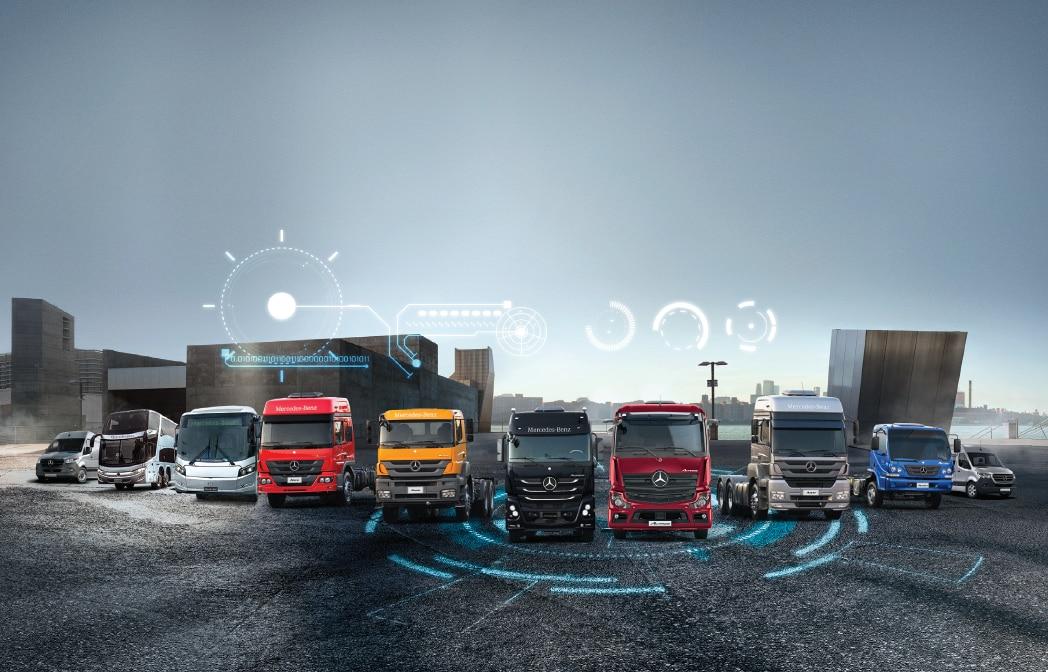 Mercedes-Benz lança plataforma virtual para vendas de caminhões, ônibus e vans