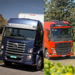 Volkswagen e Volvo fazem promoção de peças
