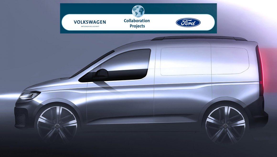 Ford e Volkswagen se unem para desenvolver vans e utilitários