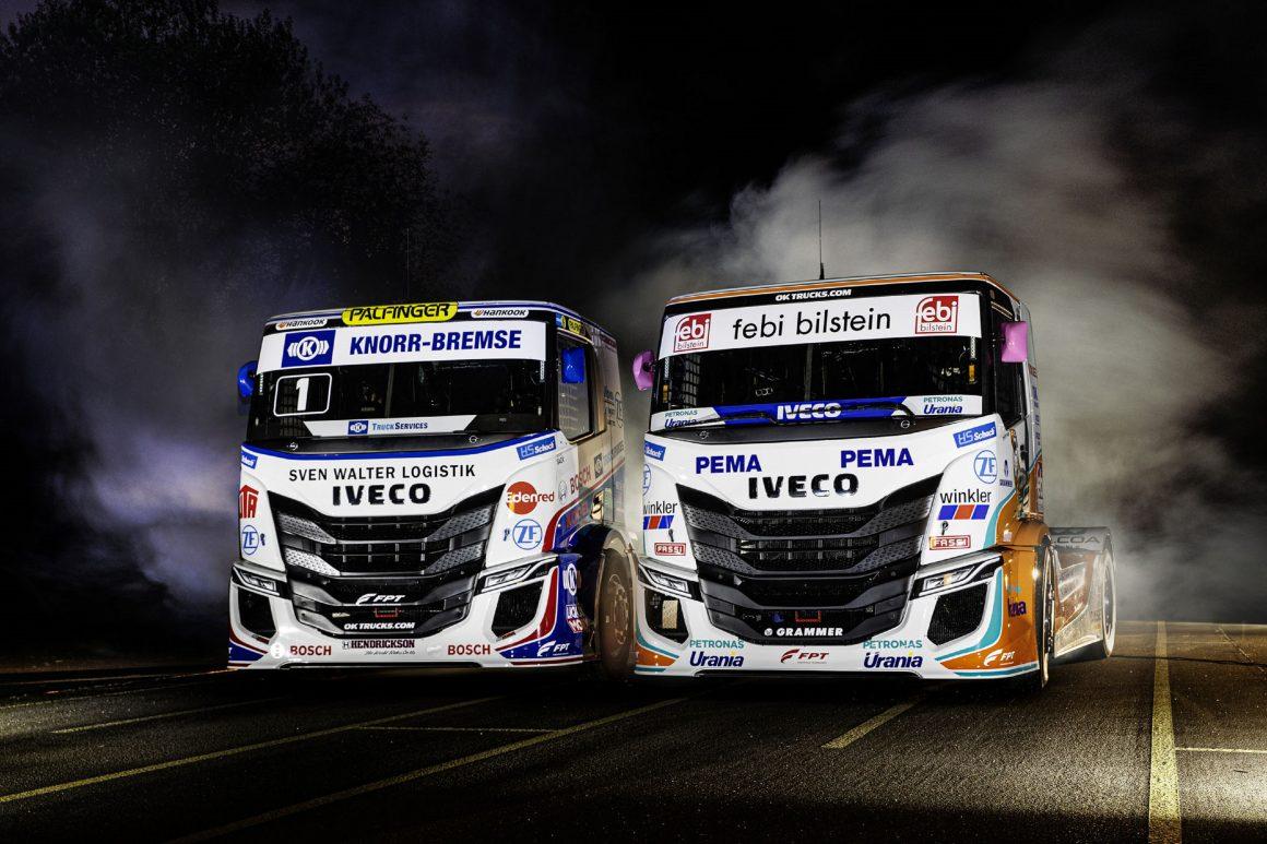 Iveco prepara os seus caminhões S-Way R para corridas na Europa
