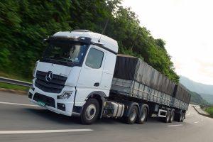 Testamos o Novo Actros da Mercedes-Benz