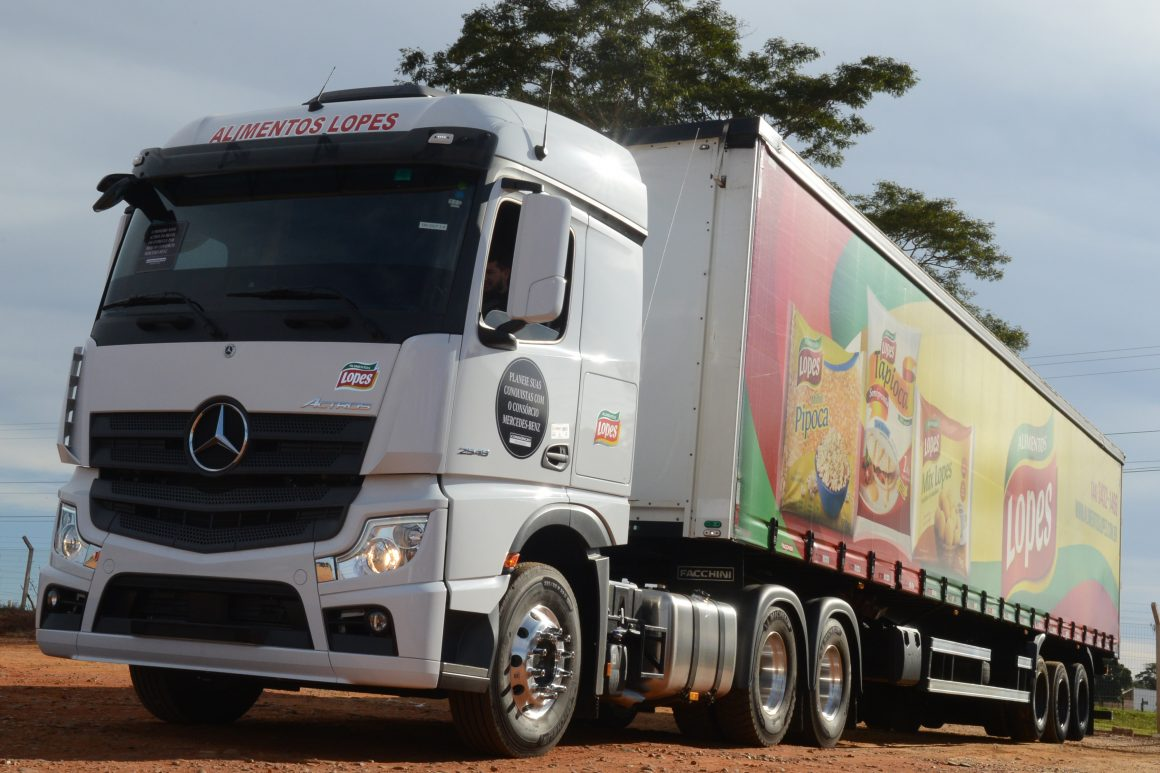 Mercedes-Benz começa a entregar o novo Actros