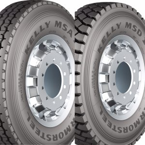 Goodyear lança pneus de carga da marca Kelly