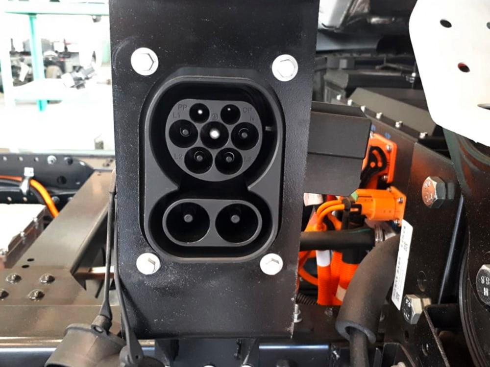 caminhão elétrico