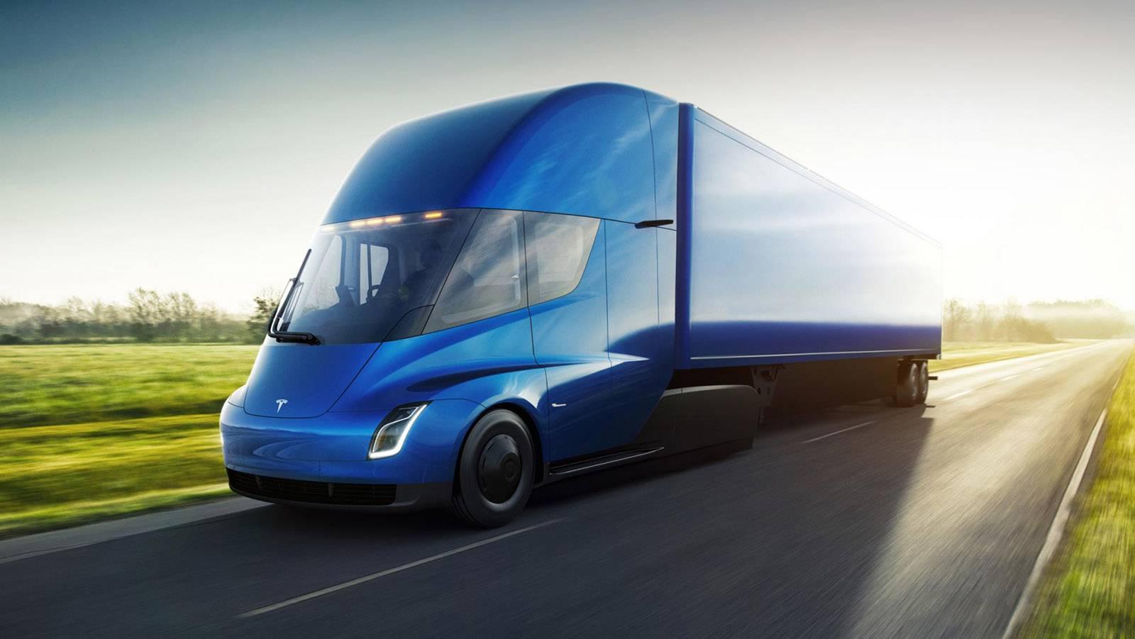 Caminhão elétrico Tesla Semi será produzido no Texas