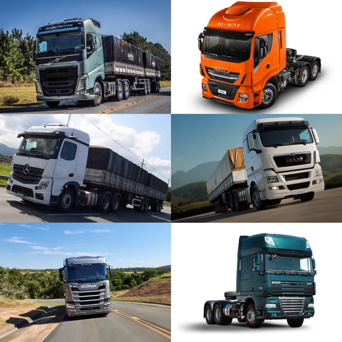 As vendas de caminhões em julho cresceram em relação a junho 8,7%