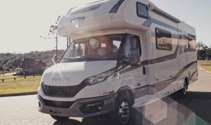 Iveco Daily vira motorhome