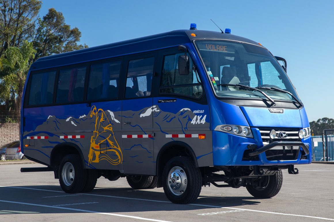 Volare vende primeiros micro-ônibus seguro da marca contra o coronavírus