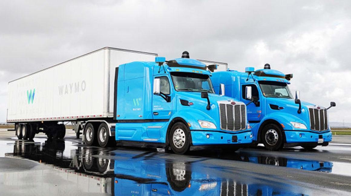 Waymo começa a testar caminhões autônomos no Texas