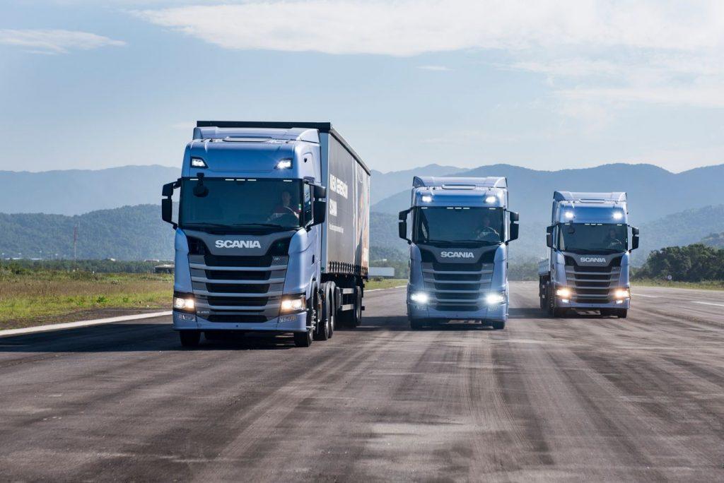 Mercado de caminhões retrai 15,23% em agosto
