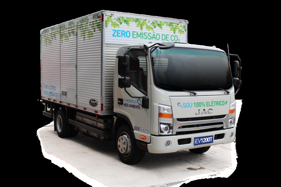 JAC Motors lança o primeiro caminhão elétrico