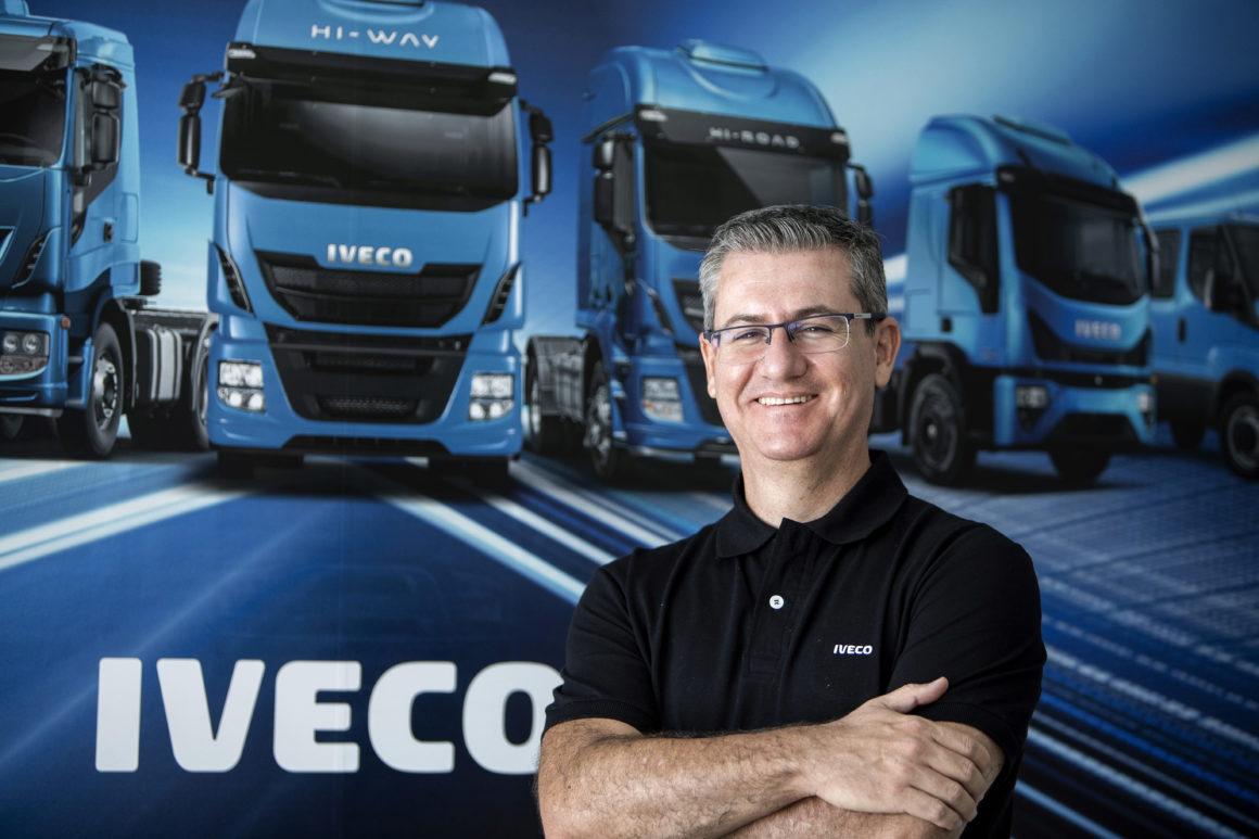 Márcio Querichelli da Iveco diz que em breve o Brasil terá novidades sobre os caminhões a gás