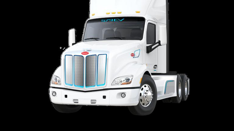 Caminhão elétrico pesado da Peterbilt está à venda nos Estados Unidos