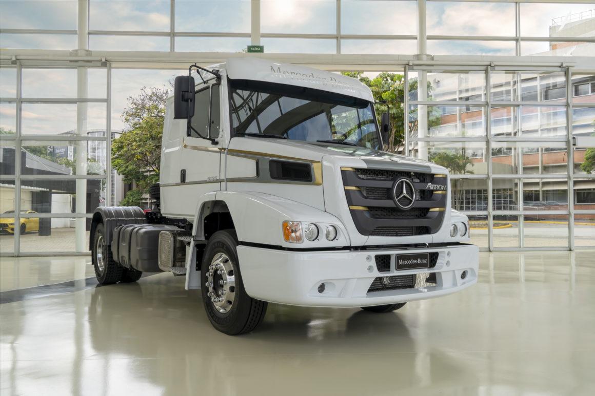 Mercedes-Benz lança edição especial do Atron 1635