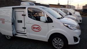 BYD lança versão do eT3 refrigerada