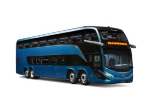 Marcopolo lança linha Geração 8 de ônibus rodoviários