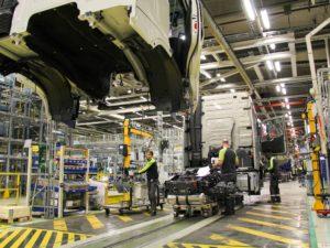 Produção de caminhões registra leve crescimento de 1,1% em julho