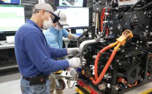 Toyota montará módulos de células de combustível para caminhões pesados