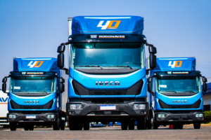 Rodonaves Caminhões Iveco lança Tector comemorativo