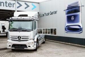 Produção em série do Mercedes-Benz e-Actros começa na Alemanha